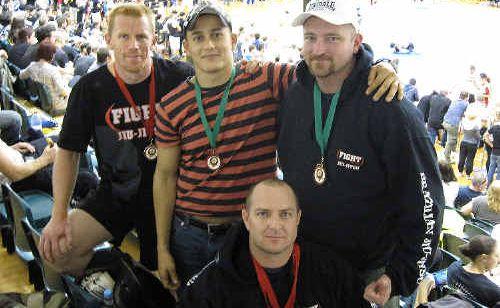 Mackay Brazilian Jiu-jitsu members Trent Dyson, Mercelo Kasahaia, Henry Walpole and Clinton Smith enjoyed success at the Pan Pacific Brazilian Jiu-jitsu Titles in Melbourne.