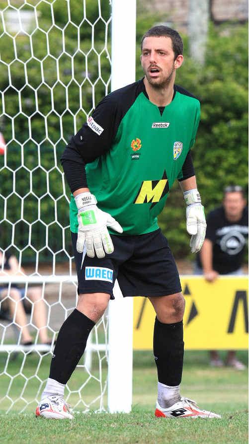 Former Sunshine Coast Fire goalkeeper Jerrad Tyson.