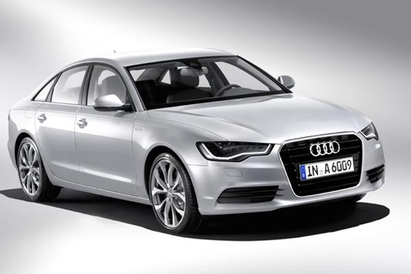The new Audi A6 hybrid.