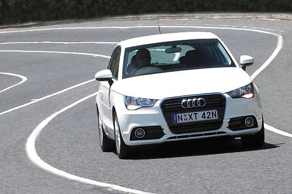 The Audi A1.