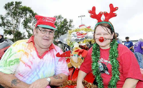 Geoff and Sue Quinn, of Alstonville, love doing the annual North Coast Charity Motorcycle Toy Run each year on their Can-Am Spyder.