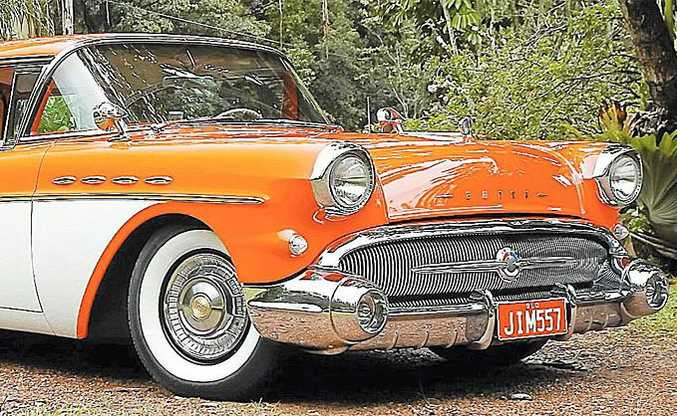 Jim Humphreys' 1957 Buick Century Caballero Estate Wagon.