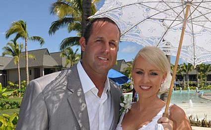 Ben and Karla Lund met on an internet dating website and are now happily married.