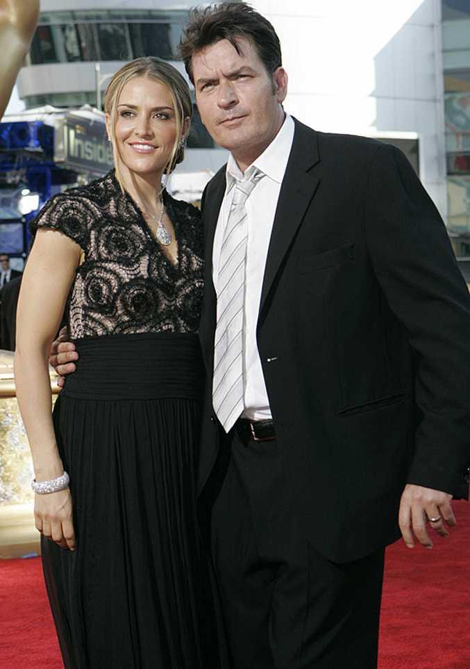 Brooke Mueller and Charlie Sheen.