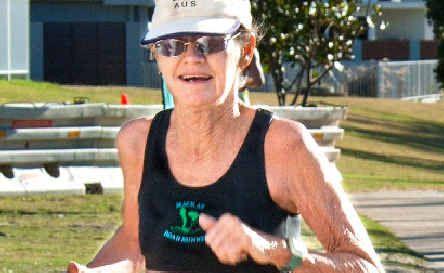 Judy Zahn is an amazingly fit runner.