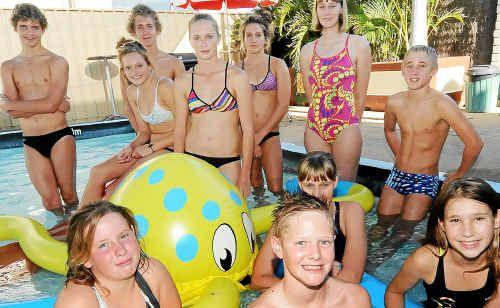 Fairymead Swimming Club's Brooke Hailey, Charlie Cox, Natasha Walden, Susan Bass, Georgia Bass, Zoe Reinke, Kyle Rethamel, Jeremy Rethamel, Joshua Ward, Steph Hailey and Bonnie Stehbens are off to the Queensland State Championships.