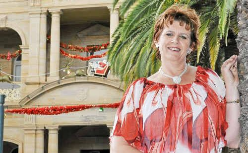 Tracy Vellacott can't wait to step into her new role as Warwick Tourism and Events CEO and (inset) when she was crowned Queen of Hearts in 1991.