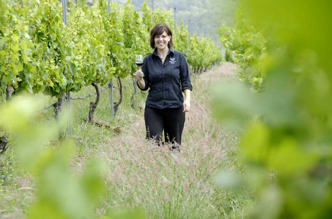 Preston Peak cellar door manager Shana Rogers said people are pleasantly surprised when they visit the picturesque winery.