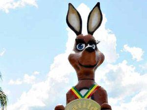 Matilda mascot arrives in Gympie