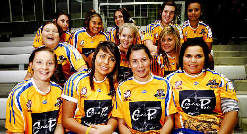 Norths Tigers under-16 girls rugby league team members are eager to tackle the inaugural competition in 2011.