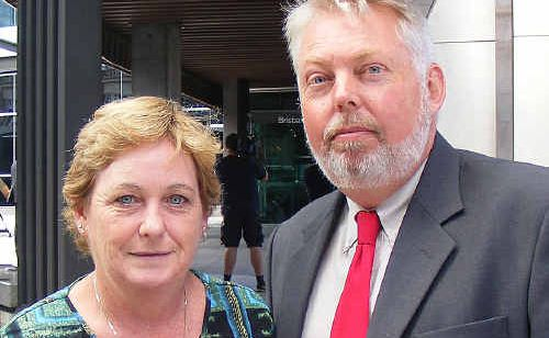 Denise and Bruce Morcombe.