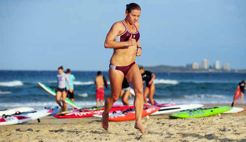 Allira Richardson is happy with her results to date in the Ironwoman Series but is seeking perfection.