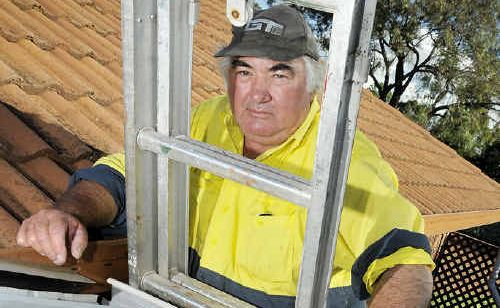 This Cotswold Hills man claims coal dust coming from trucks is causing damage to his home.