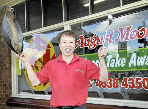 August Moon Chinese Takeaway proprietor James Chan will reopen in a new store at the corner of Ruthven and North streets.
