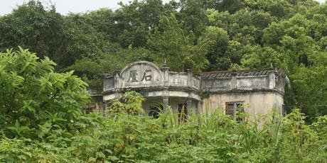 An abandoned family home near Fanling, Hong Kong.