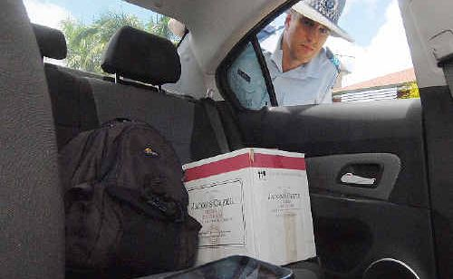 Mackay's Crime Prevention Unit officer in charge Sergeant Nigel Dalton is warning people not to leave valuable items in unlocked cars. Of 21 recent reports of thefts from motor vehicles in the region, 17 vehicles were unlocked.