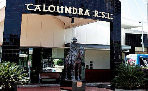 The Caloundra RSL.
