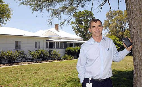 Doug Harland, shown here at Sunrise Way, was rejoicing yesterday after finding a solution to the facility's funding woes.