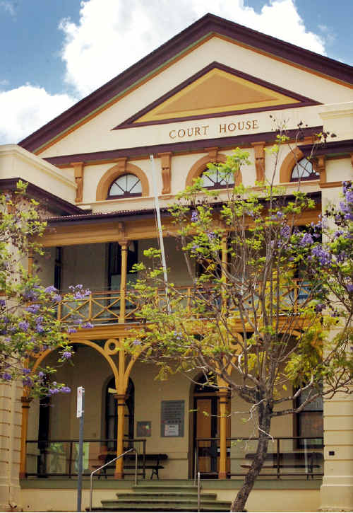 It is believed a man has done a runner from the Maryborough courthouse after being refused bail.