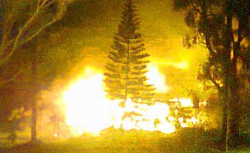 The house fire in Wulkuraka.