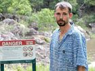 Paul Devine says the warning sign at Wappa Falls encourages teenagers to jump in.