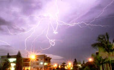 Friday night's storm showed Mother Nature at her spectacular and dangerous best.