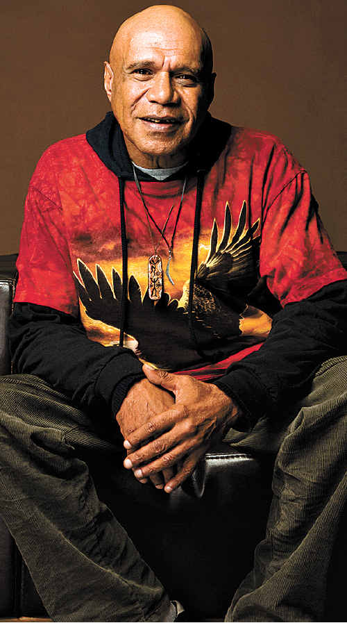 Archie Roach, above, cannot make the Woodford Folk Festival but former prime ministers Kevin Rudd and Bob Hawke will be there.