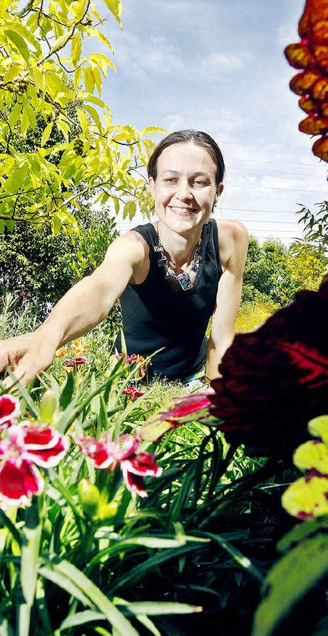 Chelsea van Rijn from Trevallan Lifestyle Centre is holding a garden competition.