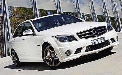 Mercedes-Benz's C63A AMG.
