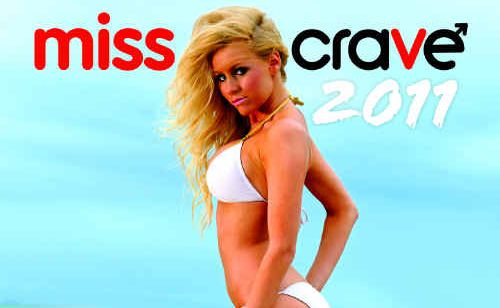 The Miss Crave 2011 calendar is now available from participating local newsagents, as well as the Daily Mercury.