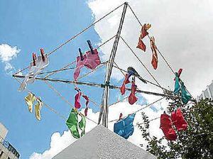 Underwear pinched from Point Vernon clothesline