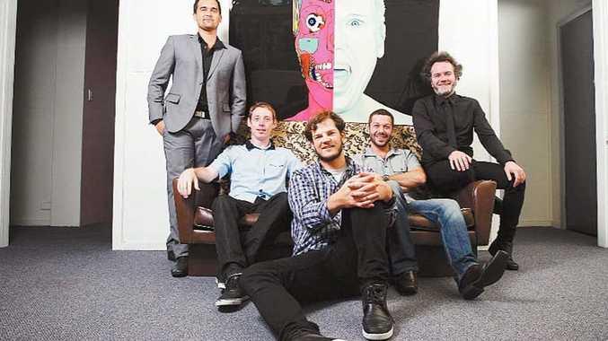 The guys from VA (from left) Tiam Whitfield, Brian Keayes, Matthew Haynes, Robert Austin and Wayne McFetridge.