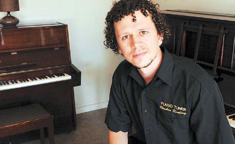 Piano tuner Reuben Barkley tuned the piano for Powderfinger's last album.