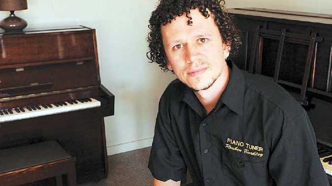 Piano tuner Reuben Barkley tuned the piano for Powderfinger's last album.