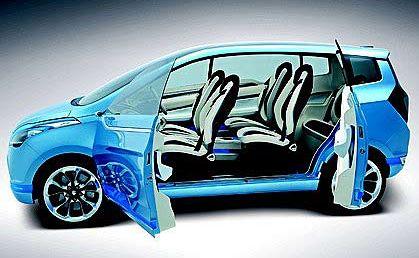 Suzuki's R3 concept car.
