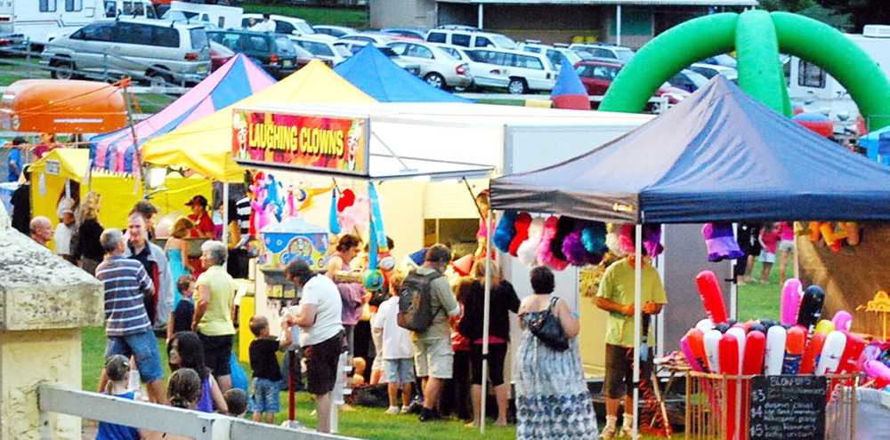 CELEBRATION: Pictured is the scene at the 2009 New Year's Eve celebration at Alstonville.