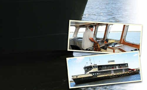 SMOOTH SAILING: The Lady Woodward has a new lease on life as a houseboat in Tin Can Bay after her former life as a Sydney ferry.