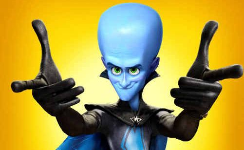MEGA FUN: Film Megamind.