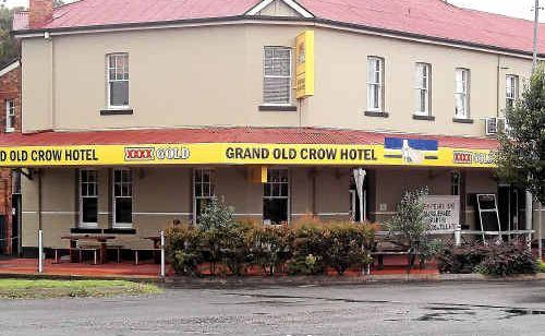 Seven people were arrested after a large bar fight at the Grand Old Crow Hotel in Crows Nest.