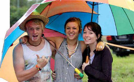 Angus Carson, Joey Scheiwe and Siobhan McNamara whet their festival appetite.