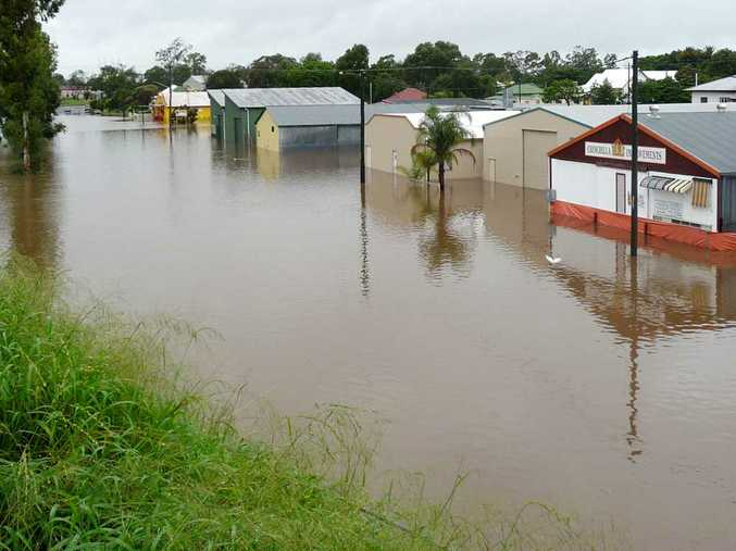 Chinchilla was inundated with heavy flooding over the last few days.