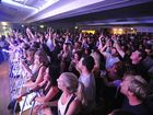 A capacity crowd of over 800 filled the auditorium of the Yamba Bowling club to see Grinspoon. PHOTO: Adam Hourigan/The Daily Examiner.