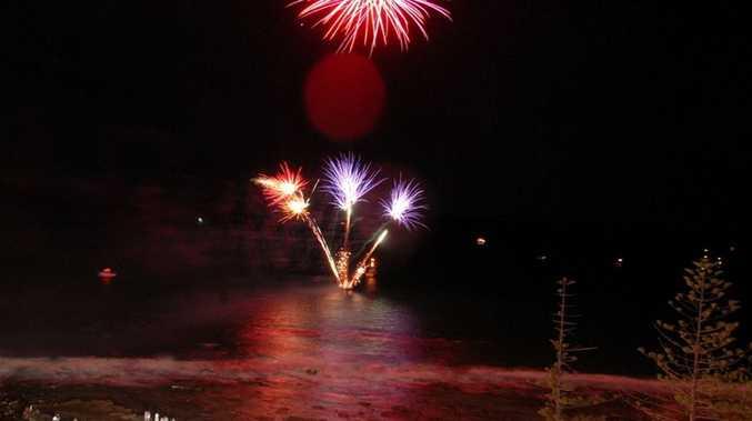 New Year's celebrations on the Sunshine Coast.