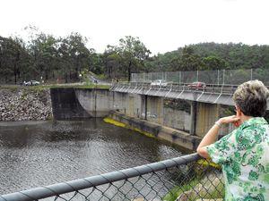 Council closes dam as 'precautionary measure'