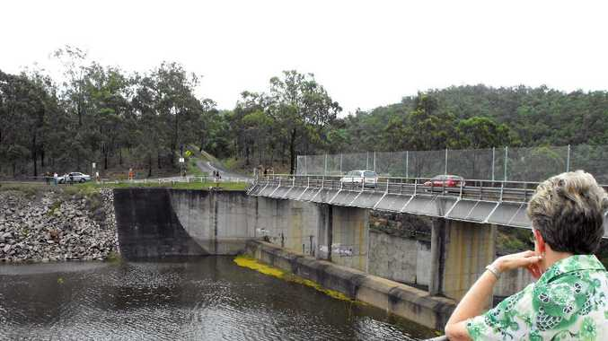 Perserverance Dam is nearly full after weeks of rain.