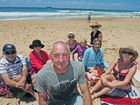 Beach-goers are calling for patrols at Sapphire.