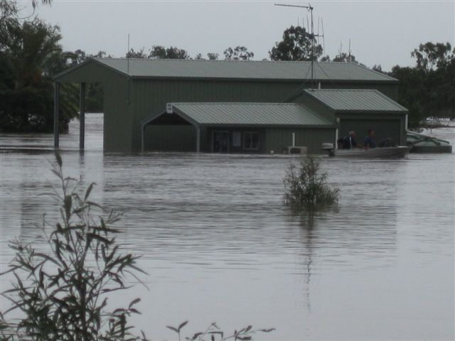 QLD Disaster Coordinator explains the flood situation.