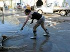 Deadly bacteria claims first victim after floods