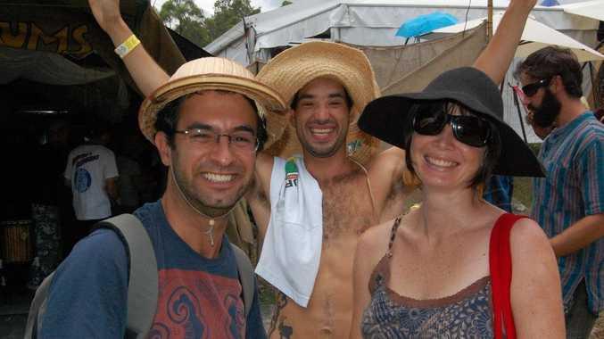 Braulio Rosetto, Rafael Maehado and Meghan Hopyard.