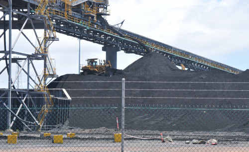 Operations have stopped at RG Tanna and Barney Point coal terminals.
